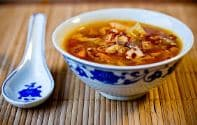 Hot Sour & Chicken Soup