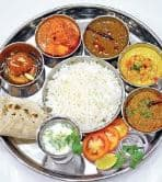 Veg Thali (11 AM to 3 PM)
