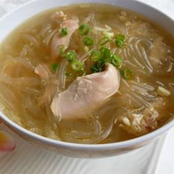 Man-chow chicken soup