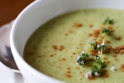 Garlic soup