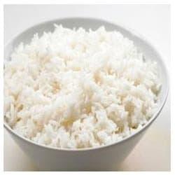 Plain steam rice